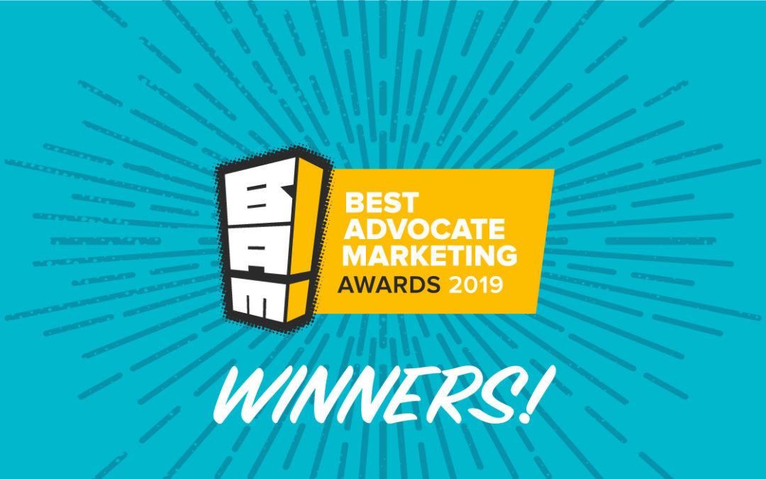 Announcing the Winners of 2019 Best Advocate Marketing Awards (BAMMIES)